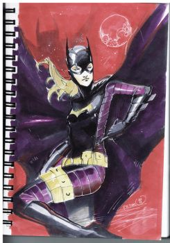 Steph Batgirl Commision by Peter-v-Nguyen