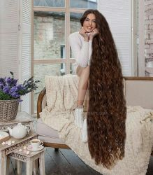 Trichian new consort : Miss Russia! by hairluster