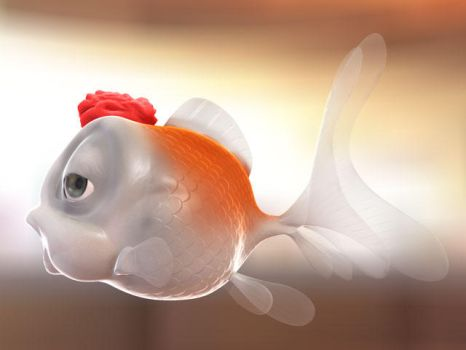 Fish with 3dmax an mentalray by mox3d