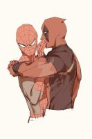 Spideypool185 by LKiKAi