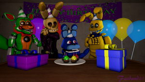 (SFM/Special) B-Day Thank you by Fazband83