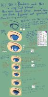 EYE TUTORIAL by pikadiana
