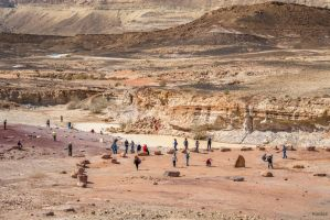 amazing Israel - people and colors in the desert by Rikitza