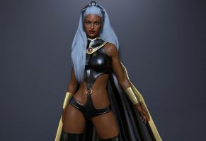 Classic Ororo by Devy25
