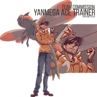 Yanmega Ace Trainer Team Commission