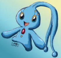 -PKMN- Manaphy by pdutogepi