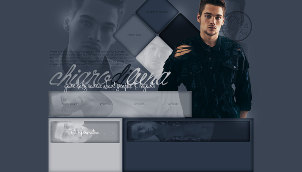 Non-Ordered Layout ft. Dylan Sprayberry by Kate-Mikaelson