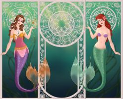 Jodi Benson Mermaids by autumnrose83