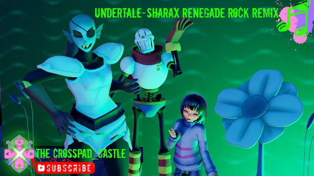 Undertale-SharaX Renegade4 by CrossPadCastle