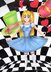 Alice in Wonderland by Nikoday
