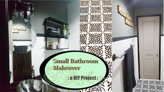 My Small Bathroom Makeover by LuthienThye