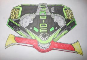 Robot Wars Series 10 CARBIDE with new blade.(2.0) by sgtjack2016