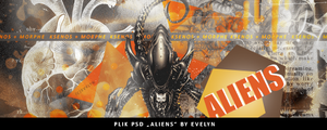 Psd ALIEN by Evelyn by youwakeup