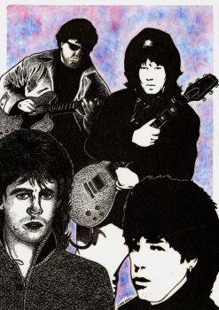 Gary Moore by mikedaws