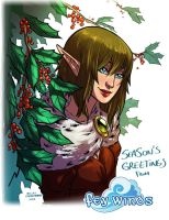 Season's Greetings '12 by Lelenia