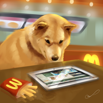 Such DA many tablet very cheeseburger by Martith