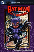 Catwoman GBDoll sketch cover by gb2k