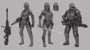 Star Wars Modified Miralukan Armored Concepts by abellius