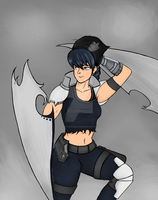 Ash, leader of TEAM ARSC  (RWBY UPRISING AU) by SirFlairTheFabulous
