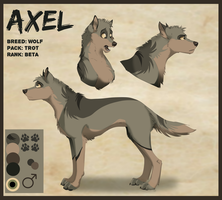 Reference Sheet: Axel by Streetfair