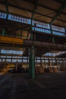 Old Iron: Roof superstructure and crane bar by IanMcAllister