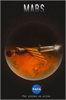 Mars First Mission by Aste17