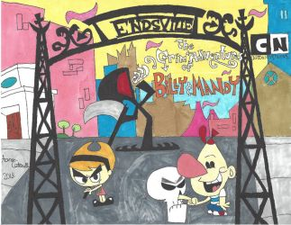 MarkerMania:The Grim Adventures of Billy and Mandy by Amazing-A2001