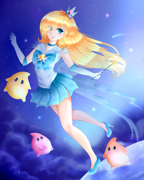 Sailor Rosalina by x-Piiu