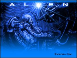 alien space jockey III by Xenomorphe-Xeno