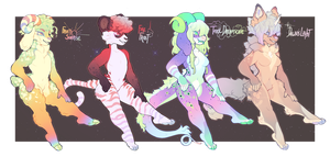 (OTA) || Sunshine Lineup (closed!) by PhloxeButt