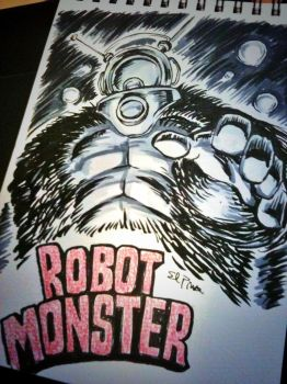 Robot Monster by ElPino0921