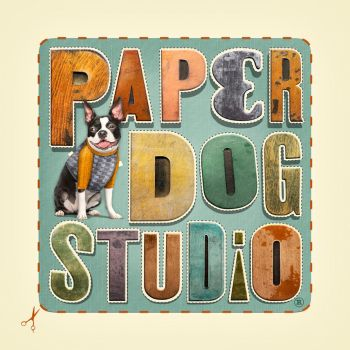 Paper Dog Studio Logo by PaperDogStudio