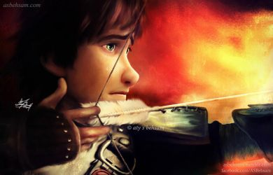 Digital Painting - Through All My Sorrow (HTTYD 2) by Aty-S-Behsam