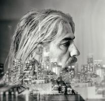 Self Double Exposure by Jack-Nobre