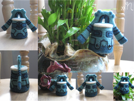 Felted Bronzong