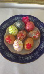 Happy Easter! Easter Eggs by TheAdmirerOfBeauty