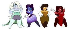 Homeworld's Opals by RoFlo-Felorez