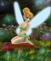Tinkerbell by Bloo-DKai12