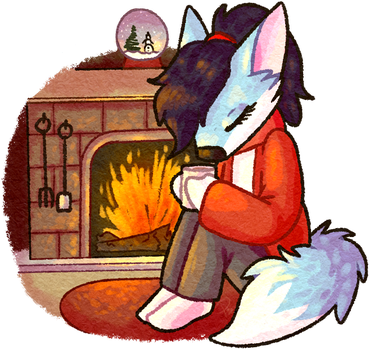 Warm By The Fire by partybug98