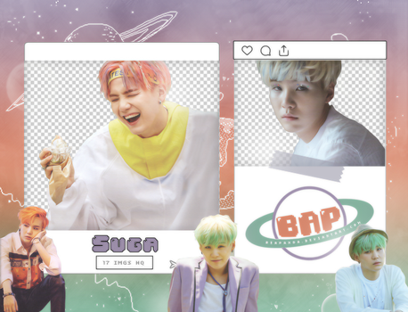 Pack Png 1433 // Suga (BTS) (NOW 3 Chicago) by BEAPANDA