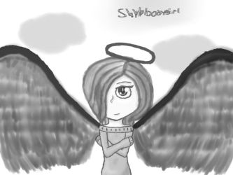 Colorless Angel by shybloodygirl