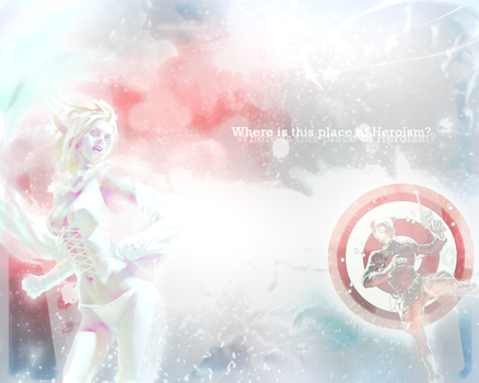 Where is this planet of Heroism - Wallpaper by coldy-fubuky