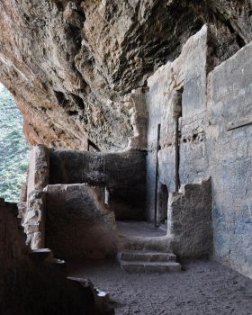 In the Cliff Dwellings by DazedSymphony