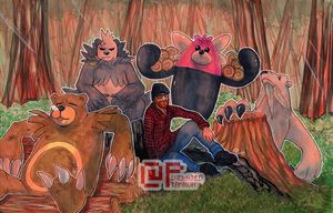 Commission: Lumberjack Pokemon Trainer