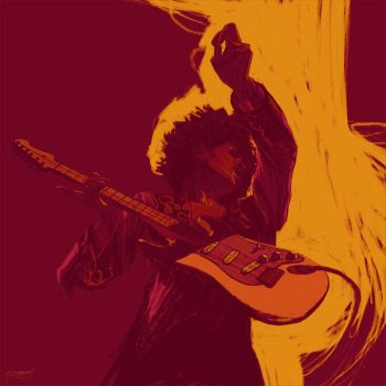 Jimi by clayrodery