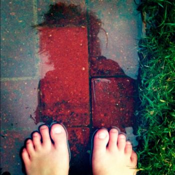 feet in the water by nearclouding