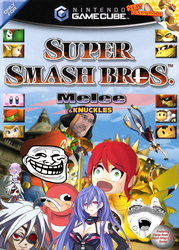 Super Smash Bros Melee and Knuckles by Antogames