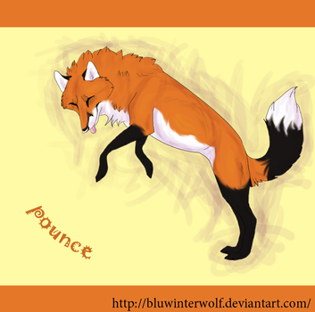 Even male foxes are cute by BluWinterWolf