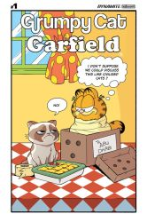 Grumpy Cat Garfield  #1 Cover by Phil-Crash-Murphy