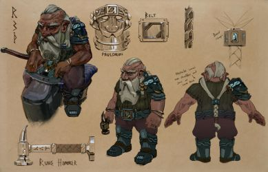 Runesmith by conorsmith12
